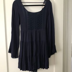Altered State Navy Blue Dress- Medium